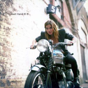 Natalia 60's Triumph Bonneville
